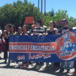 La FRAVM, con las y los trabajadores de Urgencias de La Paz en lucha