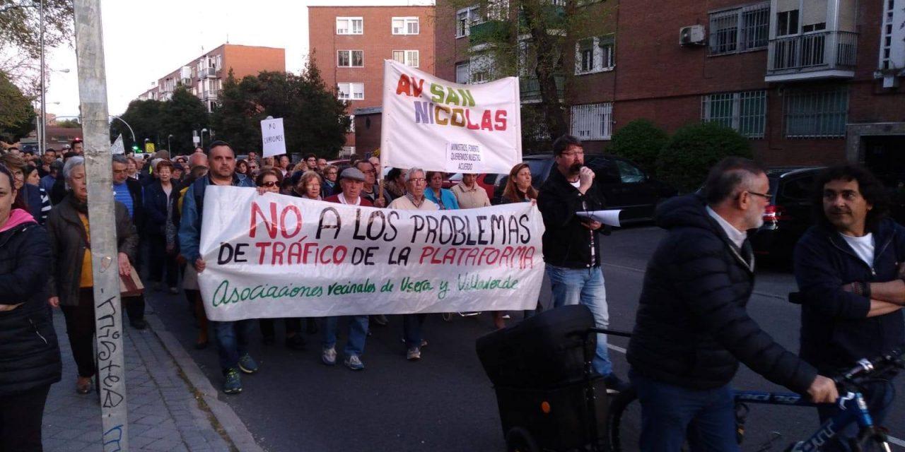 """Una nueva manifestación llegará hasta la planta logística de Villaverde con el lema """"industria sí, pero limpia"""""""