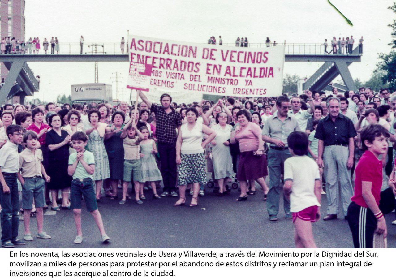 La exposición sobre los 40 años de historia de la FRAVM viaja a Galapagar