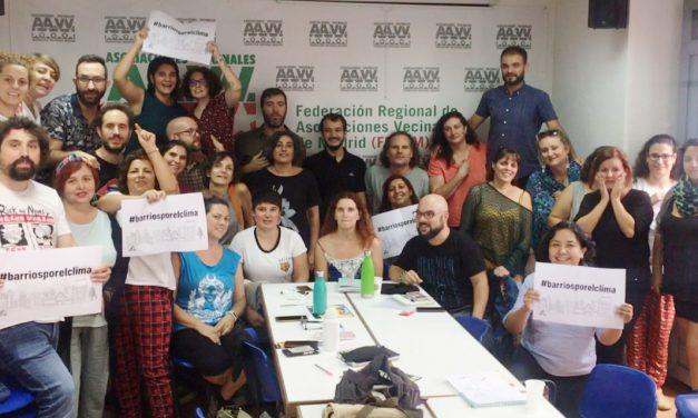 Los #BarriosPorElClima se mueven por la Huelga del 27-S
