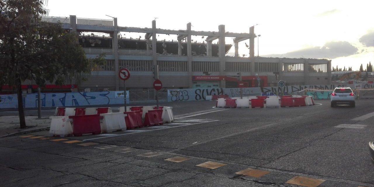 """Derribo del Calderón: """"no está garantizada la salud y seguridad de los alumnos ni de los vecinos"""""""