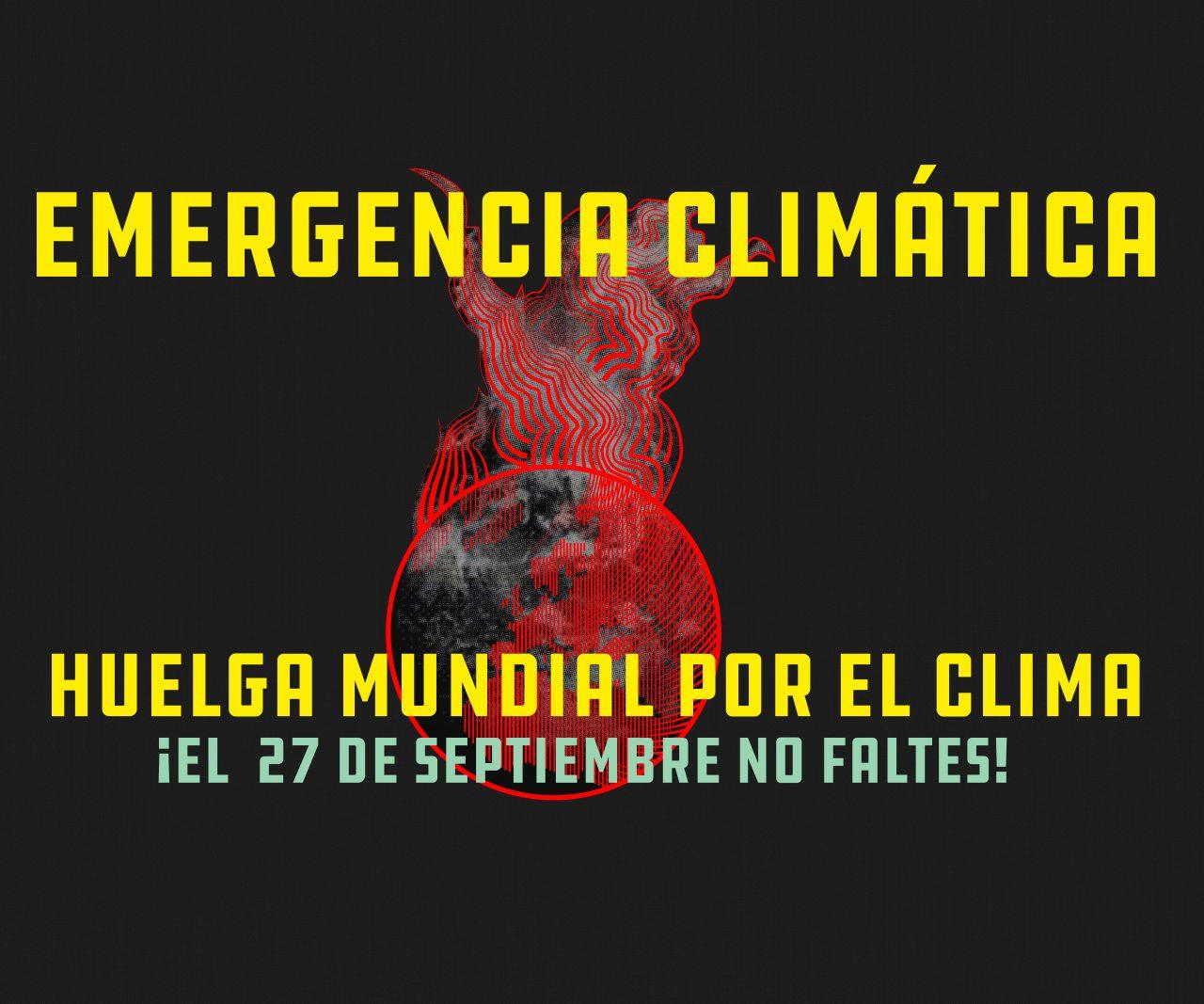 Más de 300 organizaciones se suman a la Huelga Mundial por el Clima del 27-S