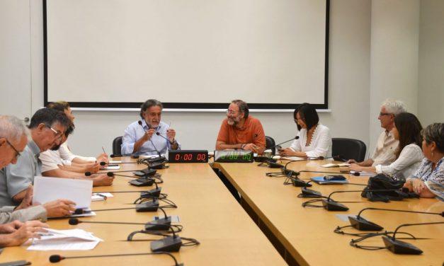 Quique Villalobos y Pepu Hernández coinciden en la defensa de la Estrategia del Sur y Este