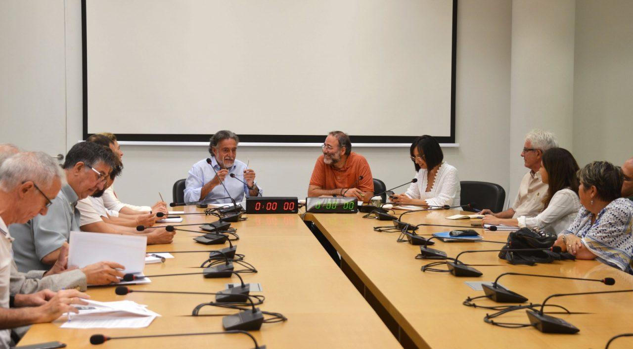 Reunión Pepu Hernández y la FRAVM