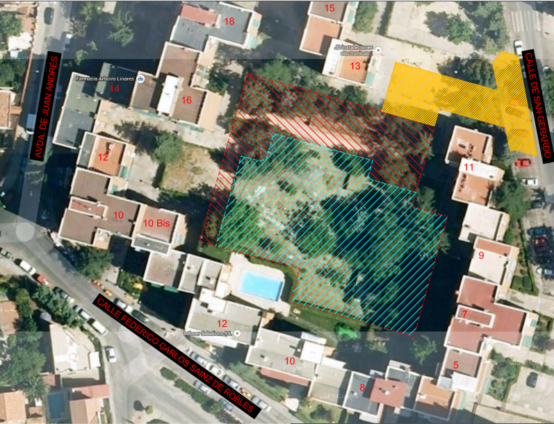 La vecindad de Ciudad de los Poetas, en pie de guerra contra la construcción de una residencia de Los Nogales