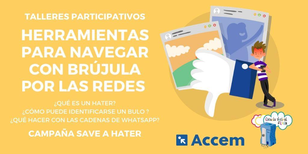 """""""Save a hater"""": cómo identificar bulos y mensajes de odio en las redes sociales"""