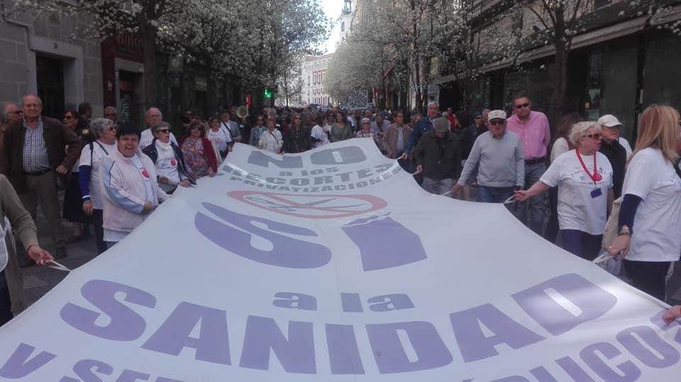 La 87ª Marea Blanca volverá a llevar su defensa de la sanidad pública hasta el ministerio