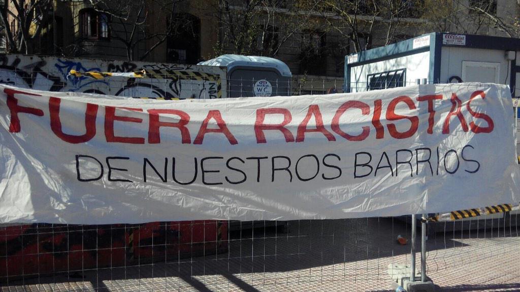 Colectivos vecinales piden la suspensión de un desfile neonazi en Ciudad Lineal