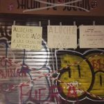 Protesta vecinal ante la inminente apertura de un local de apuestas junto al colegio Parque Aluche