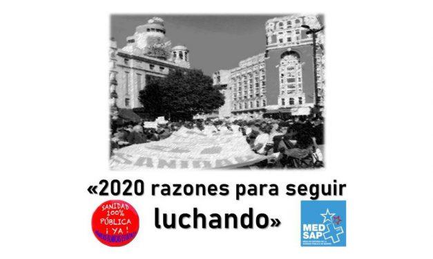 El 19 de enero Madrid acoge la primera Marea Blanca de 2020