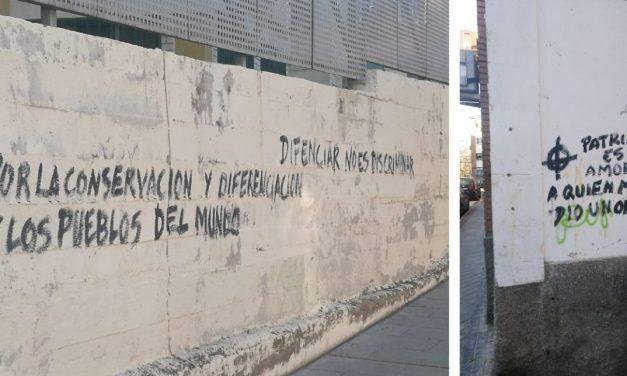 La FRAVM condena las pintadas fascistas aparecidas en la sede de la AV La Unidad de Villaverde Este