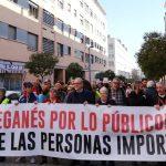 Nueva manifestación en Leganés para recuperar la calidad de sus servicios públicos