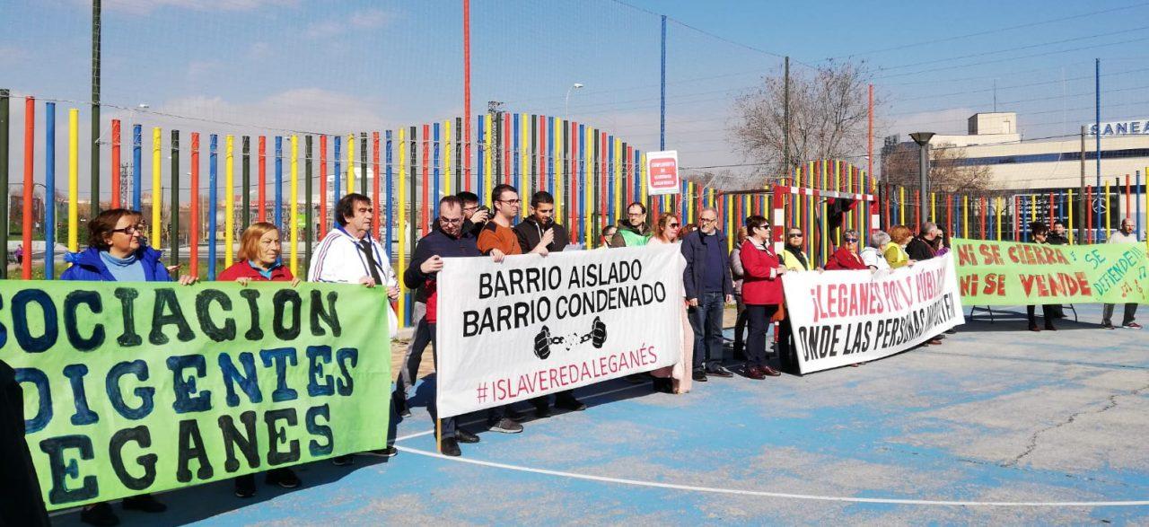 """Concentración en Leganés para reclamar """"una ciudad en la que importen las personas"""""""