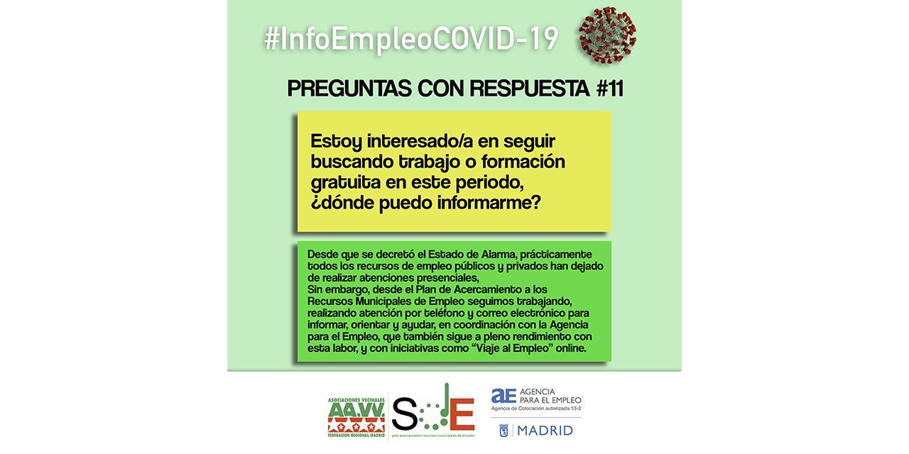 #InfoEmpleoCOVID-19: respuestas a dudas habituales de la cuarentena del coronavirus
