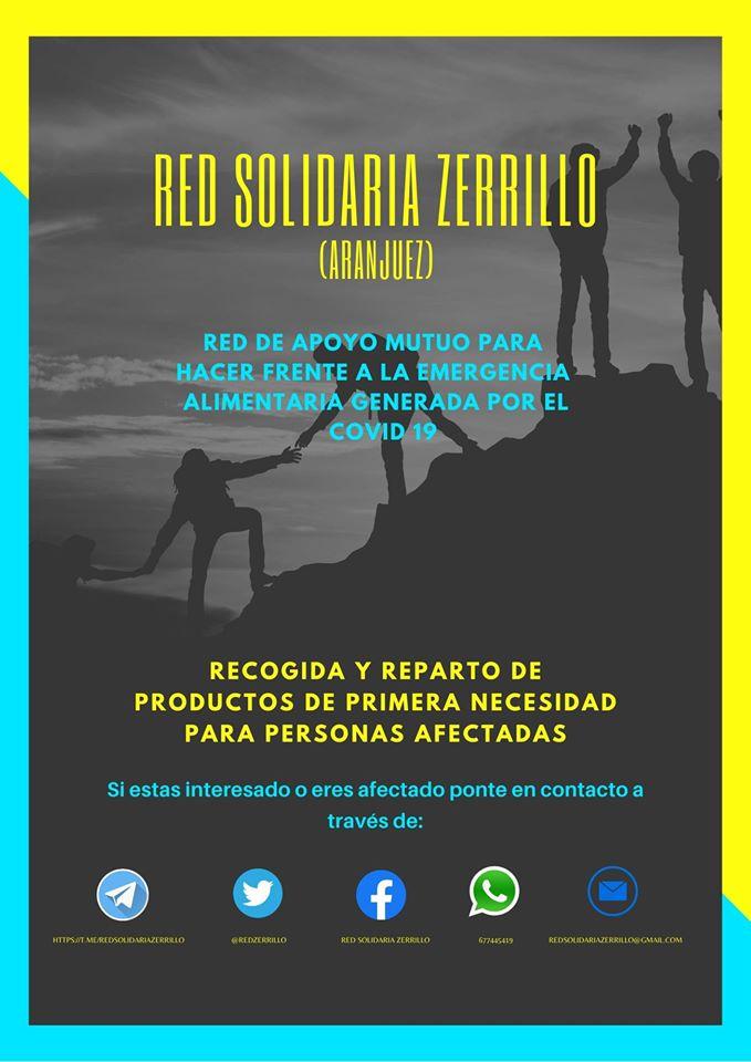 Red Solidaria Zerrillo Aranjuez