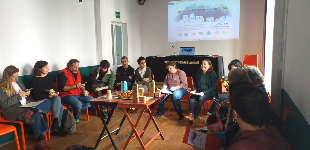 En marcha por un Madrid inclusivo y sostenible