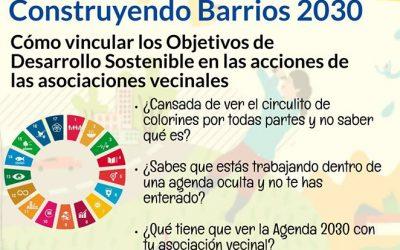 Nuevo taller de la Escuela Vecinal sobre los objetivos de la Agenda 2030 (aplazado)