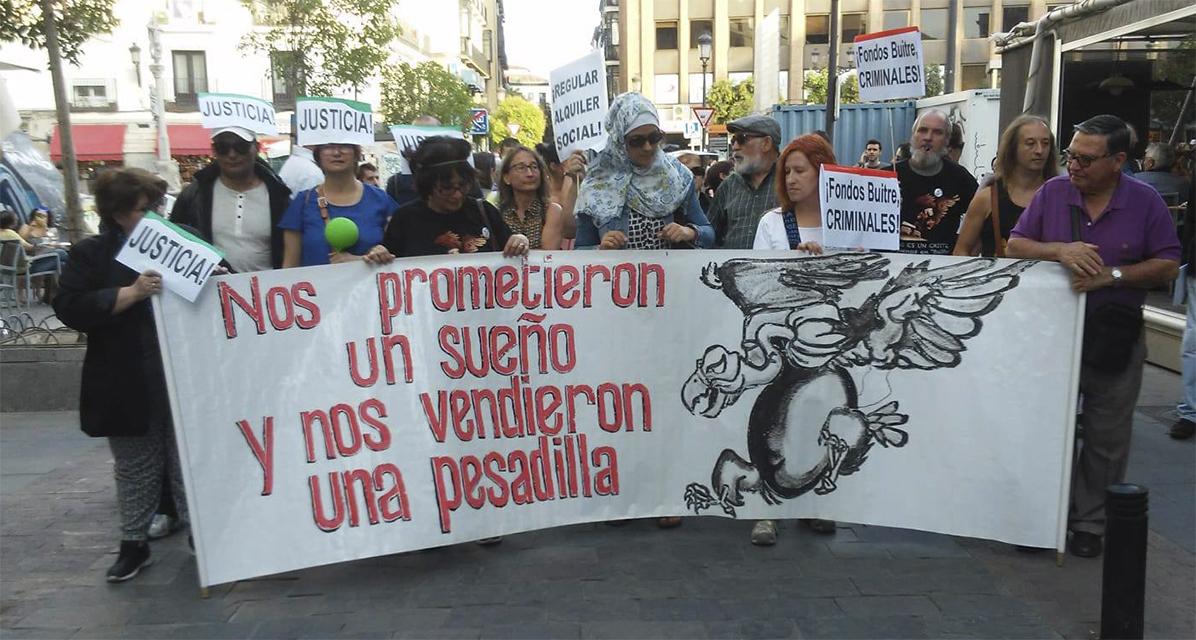 Encasa Cibeles niega la moratoria del pago del alquiler del decreto del Gobierno a familias con deudas