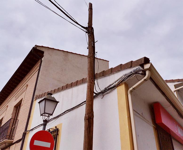La mitad de la población de Morata no puede trabajar o estudiar a distancia adecuadamente al carecer de fibra óptica