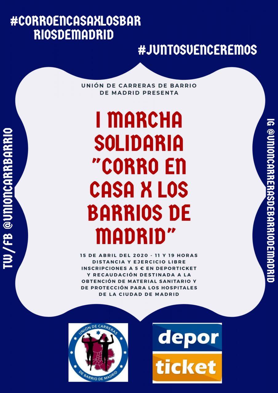 I Marcha Corro por los Barrios de Madrid