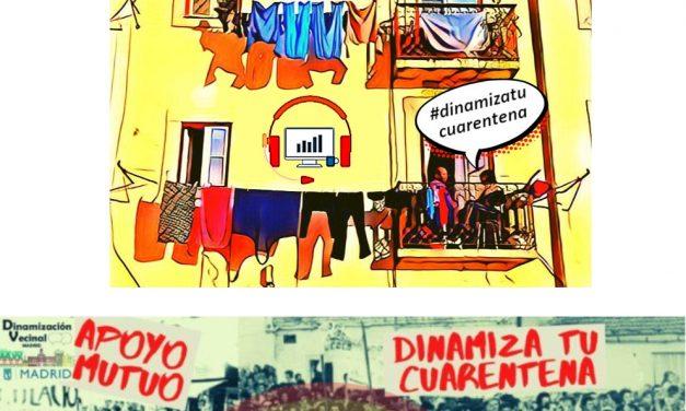 Vota por #DinamizaTuCuarentena en los premios de la guía Time Out