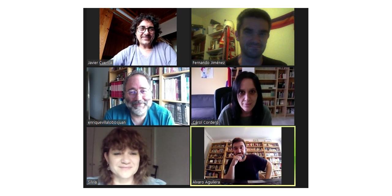 FRAVM e IU Madrid mantienen un encuentro para abordar la crisis social en la región