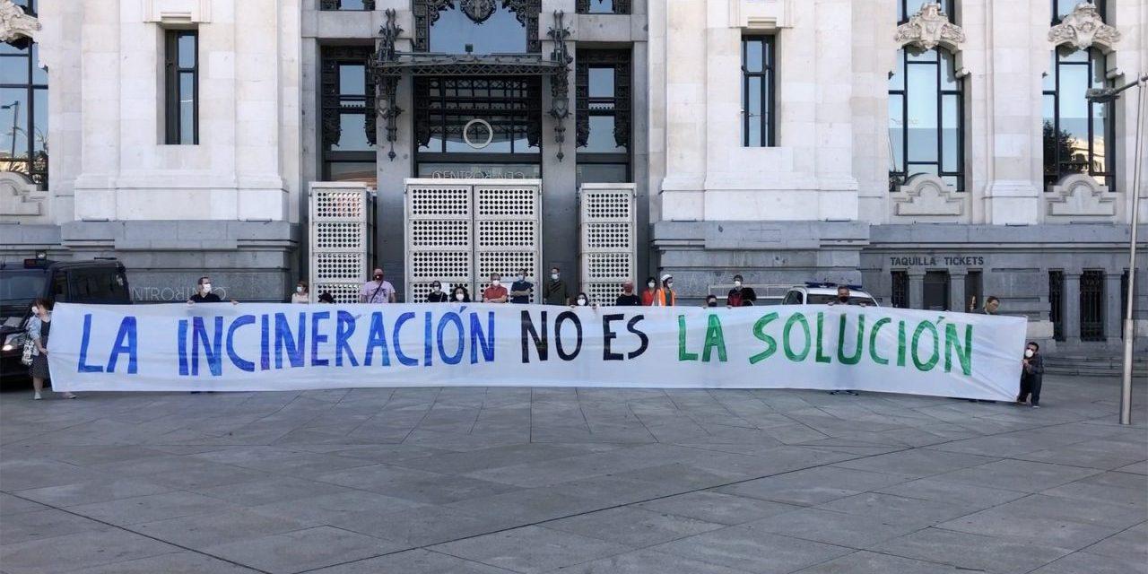 La FRAVM, Ecologistas en Acción y GRAMA piden el cierre de la incineradora de Valdemingómez en el Día Mundial del Medio Ambiente