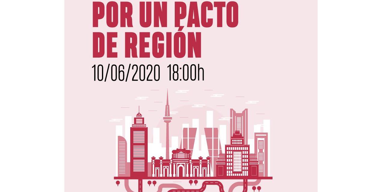 Un Pacto de Región para afrontar la crisis derivada del Covid-19