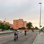 Marcha en Leganés para reclamar carriles bici y aceras más anchas para el tránsito peatonal
