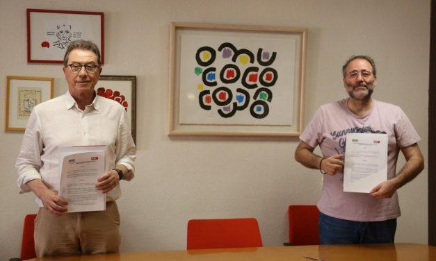 CCOO y las asociaciones vecinales, comprometidas con la emergencia social y alimentaria