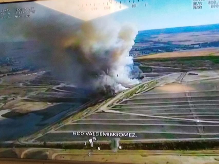 El incendio en Valdemingómez de este fin de semana destapa la ausencia de un protocolo de alertas ciudadanas