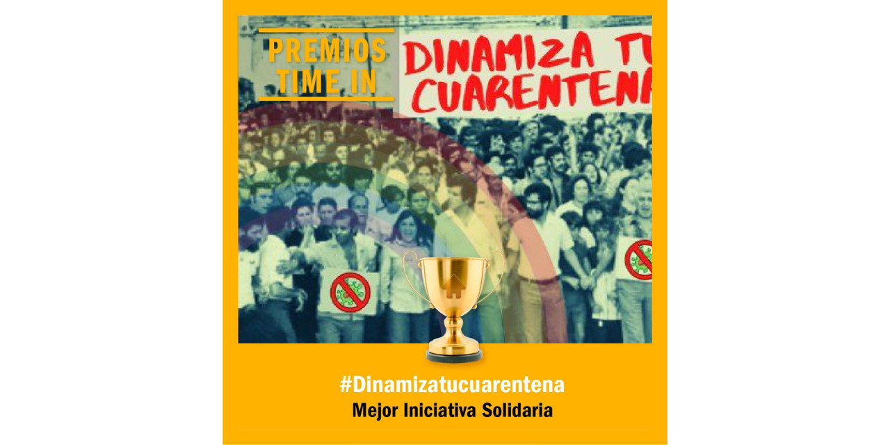 El blog #DinamizaTuCuarentena recibe el Premio In a la mejor iniciativa solidaria