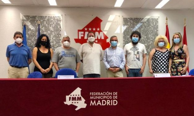"""La FRAVM y la Federación de Municipios de Madrid se reúnen para afrontar la """"nueva normalidad"""""""