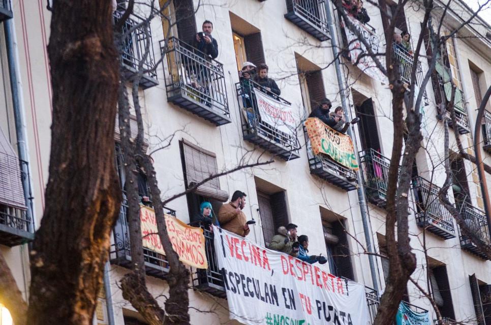 """Nuevo informe de la FRAVM: el 61% de Madrid y toda su corona metropolitana es ya una inmensa área """"tensionada"""" por el alquiler"""