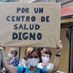 Nueva concentración ante el Centro de Salud Alameda para pedir su traslado a la calle Gobernador, 39