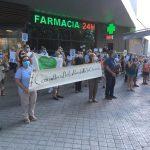La vecindad de La Poveda intensifica sus protestas por la reapertura de su consultorio médico
