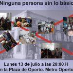 Las redes vecinales de Carabanchel exigen a la Junta que se haga cargo de la demanda alimentaria de emergencia