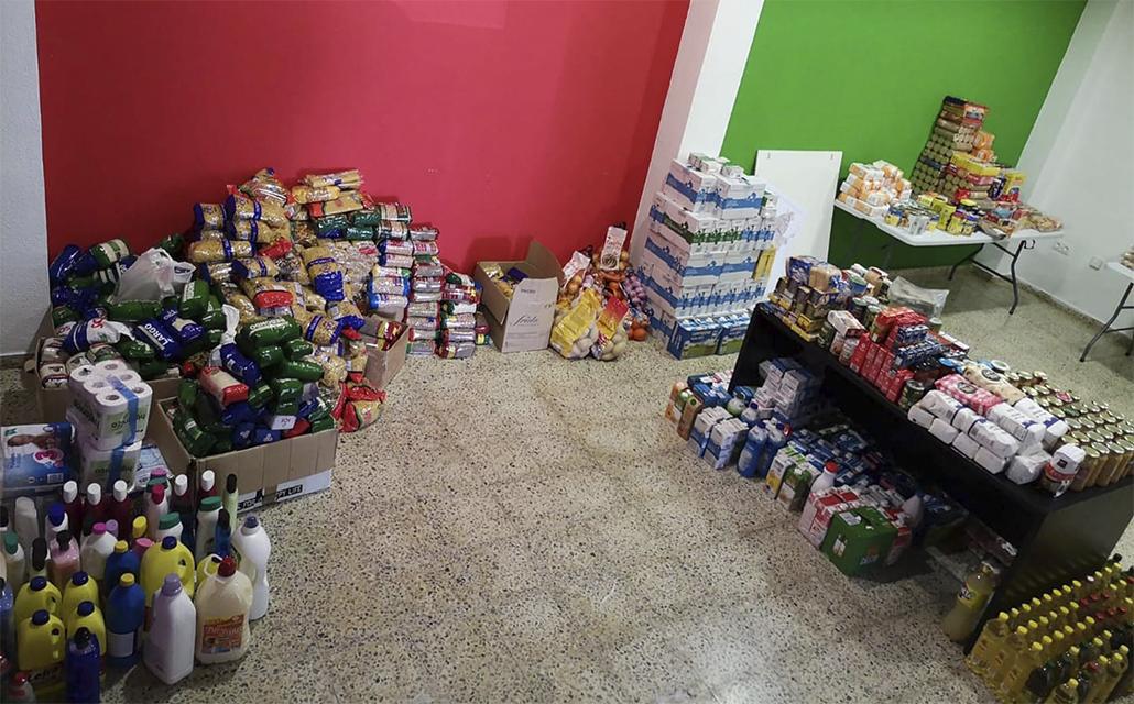 La despensa vecinal de alimentos de Arganza echa el cierre