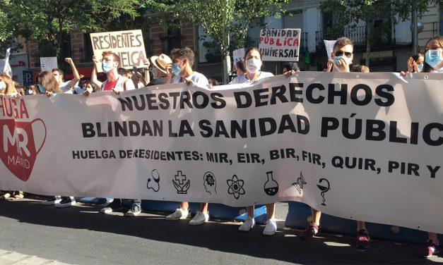 La FRAVM, con las y los médicos residentes en huelga