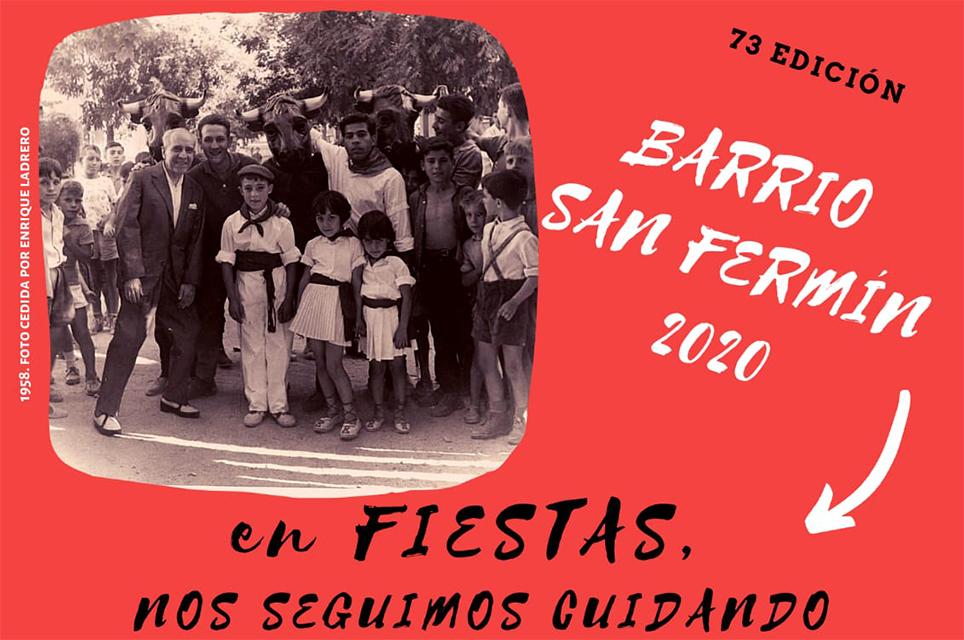 El barrio de San Fermín celebra sus fiestas más solidarias
