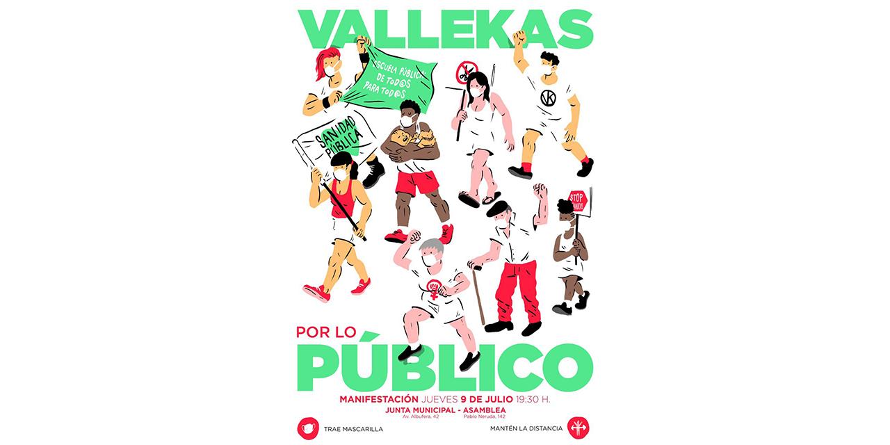 El 9 de julio, Vallecas sale a la calle por los servicios públicos