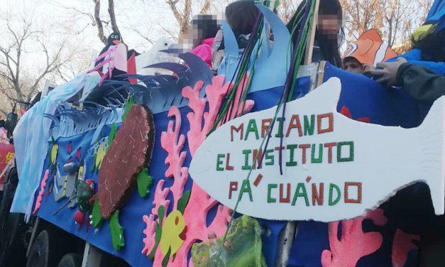 Concentración en San Fermín (Usera): ¡construcción del instituto ya!