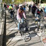 Éxito de participación en la segunda bicicletada vecinal en Leganés