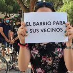 Colectivos vecinales de Hortaleza protestan contra la reactivación del proyecto de aparcamiento de Mar de Cristal