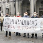 Las asociaciones vecinales afectadas piden al MITECO la eliminación definitiva de las obsoletas depuradoras de La China y Butarque