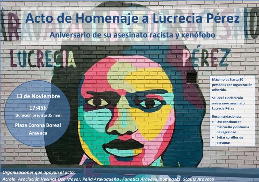 28 años del asesinato ultraderechista de Lucrecia Pérez: prohibido olvidar