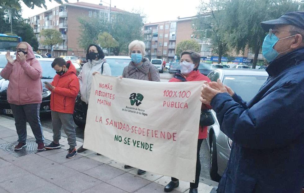 La Marea Blanca acusa al Gobierno de Ayuso y Aguado de ser un peligro para el 99% de los madrileños