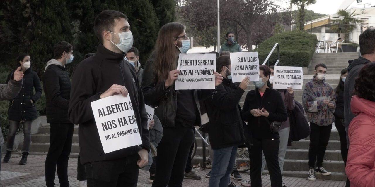 Más de 20 asociaciones de Hortaleza impulsan una manifestación contra los nuevos aparcamientos municipales