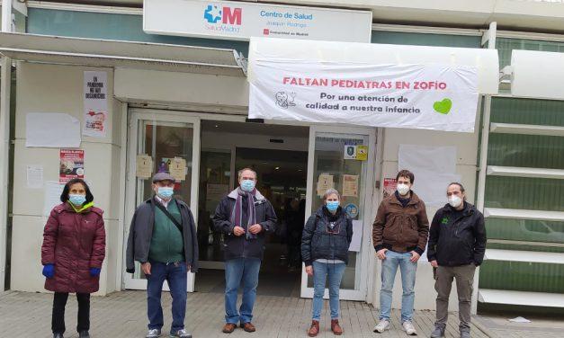 730 vecinos y vecinas de Zofío (Usera) piden a la Comunidad de Madrid pediatras para su centro de salud