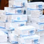 Las asociaciones vecinales de Leganés distribuyen 23.000 mascarillas sanitarias